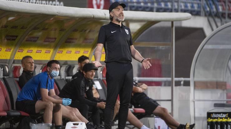 Nach zuletzt fünf Niederlagen in Serie im «Ländle» holt der FCA unter Stephan Keller endlich wieder einen Punkt.