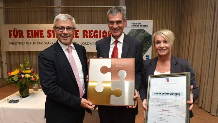 Der Zoo Basel erhielt den Anerkennungspreis.