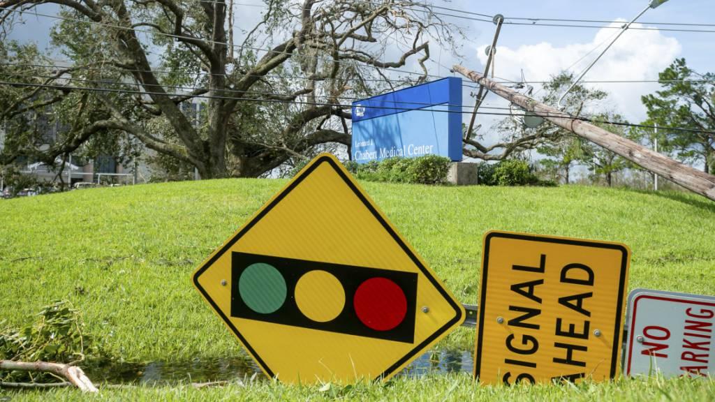 Der Hurrikan «Ida» hat viel zerstört - wie etwa in Houma, Louisiana. (Archivbild)