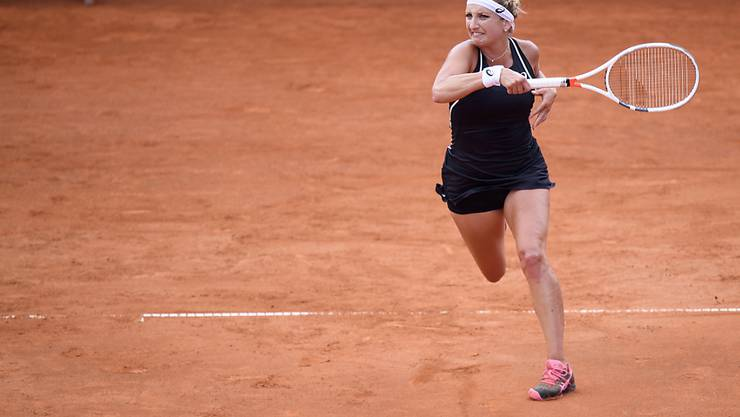 Timea Bacsinszky findet im ITF Turnier in Biarritz in Form