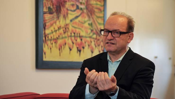 Bernhard Mendes Bürgi, Direktor des Kunstmuseums Basel, erklärt, wie grundlegend die Sanierung des Hauptbaus ist und wie das Museum das Schliessungsjahr überbrückt.