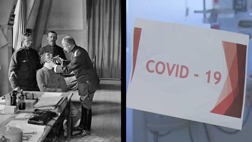 Spanische Grippe vs. Covid-19: Forscher finden viele Parallelen