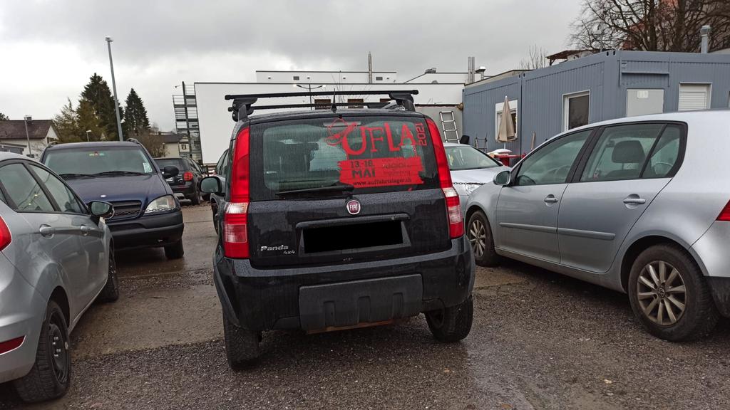 Autokleber – ein Überbleibsel aus der Zeit davor