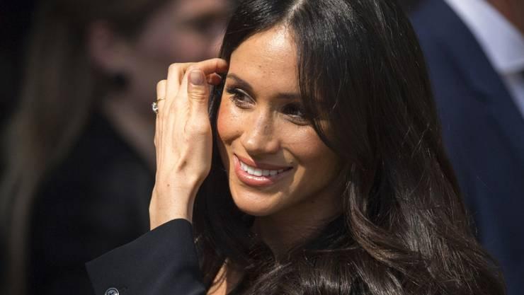 """Hauptprobe im Fernsehen: Kurz vor der echten Hochzeit mit Prinz Harry, hat Meghan Markle in der US-Serie """"Suits"""" geheiratet. (Archivbild)"""