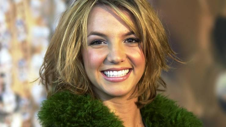Britney Spears mit 18 Jahren