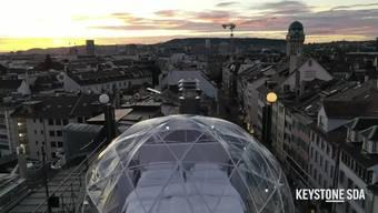 Seit einer Woche kann man in der ganzen Schweiz an die 50 Hotelzimmer in freier Natur und mit Sicht auf die Sterne buchen.
