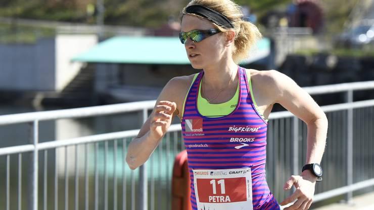 Siegerin Petra Eggenschwiler dominiert in ihrer Kategorie.