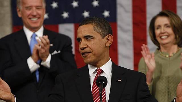US-Präsident Obama vor dem Kongress