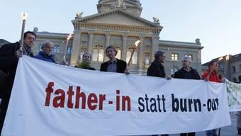 Väter kämpfen für ihre Rechte (Archiv)