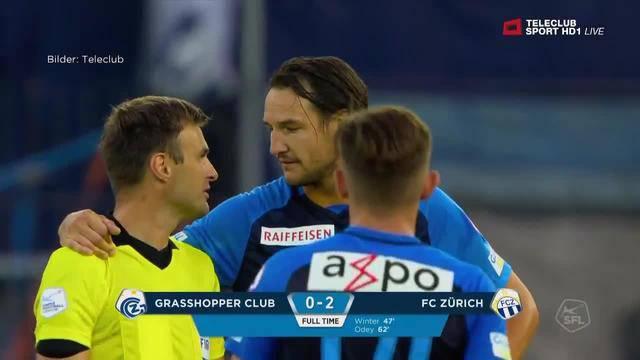 FCZ gewinnt mit 2:0 gegen Hoppers