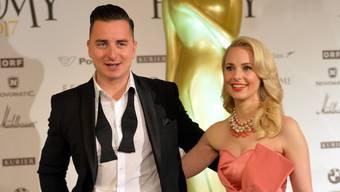 Andreas Gabalier und Silvia Schneider