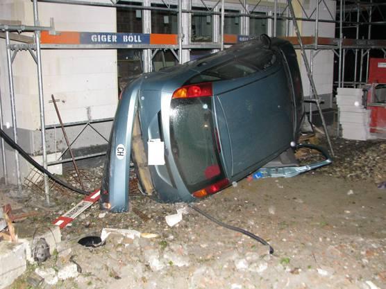 Niemand wurde verletzt, doch es entstand ein erheblicher Sachschaden.