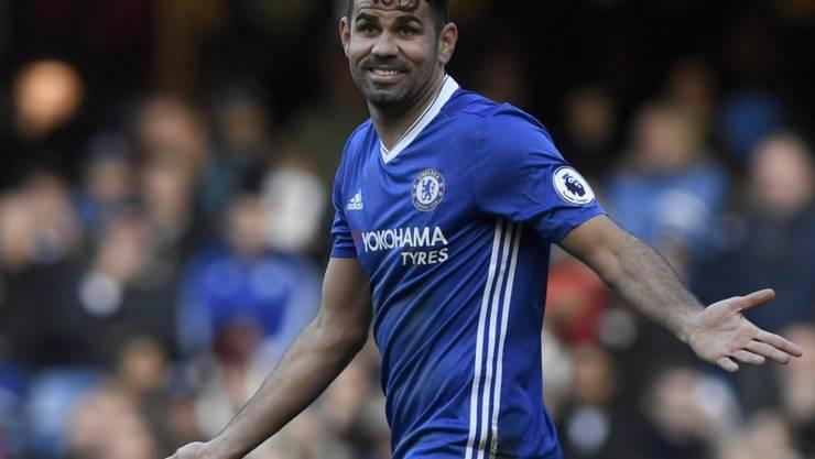 Wenns läuf, dann läufts: Diego Costa trifft am Laufbahn