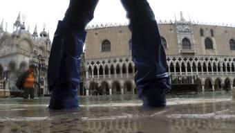 Bilder der Überschwemmungen in Venedig bringen einen ins Grübeln über die Klimaerwärmung.