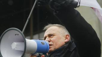 Der weissrussische Oppositionelle Nikolai Statkewitsch ist festgenommen worden. (Archiv)