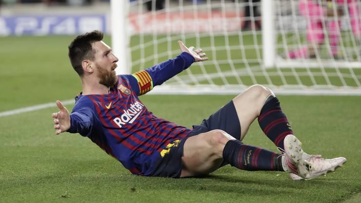 Der FC Barcelona erspielte sich im Halbfinal-Hinspiel daheim gegen den FC Liverpool ein 3:0-Polster und steht damit mit einem Bein im Champions-League-Final.