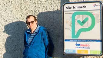 Logistiker Thomas Schörg (33) erreichte mit seinem Vorstoss auf petitio.ch, dass der Regionalbus Lenzburg–Teufenthal abends dreimal auch in Boniswil hält.