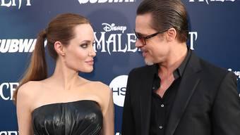 Heile Welt noch vor zwei Jahren: Angelina Jolie und Brad Pitt an einer Premierenfeier.
