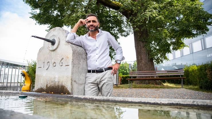 Luigi Fragale hatte eine Vision und hat sie der Stadt vorgestellt. Diese fand seinen Vorschlag gut und hat ihn umgesetzt.