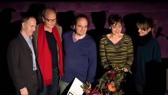 Verleihung Prix d'Honneur 50. Solothurner Filmtage