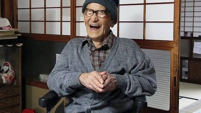 Der offiziell älteste Mann der Welt: Jirouemon Kimura (Archiv)