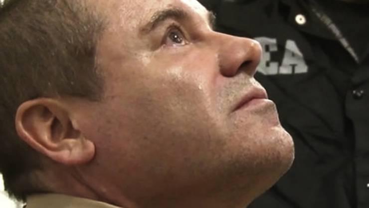 """Nach der Verurteilung des Drogenbosses """"El Chapo"""" in den USA nimmt die amerikanische Justiz nunmehr seine Söhne in die Mangel. (Archivbild)"""