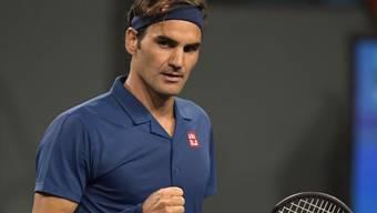 Federer gegen Wawrinka (12. März 2019)