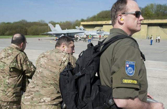 OSZE-Beobachter werden in der Ukraine Dienst leisten (Symbolbild)