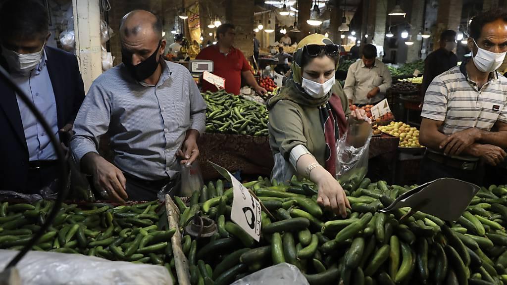 Iran meldet neue Rekordzahl an Corona-Toten an einem Tag