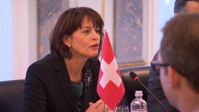 Leuthard will längeres Bundespräsidium