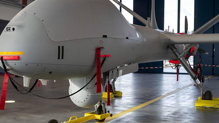 Die erste der sechs neuen Aufklärungsdrohnen ist in Emmen stationiert.