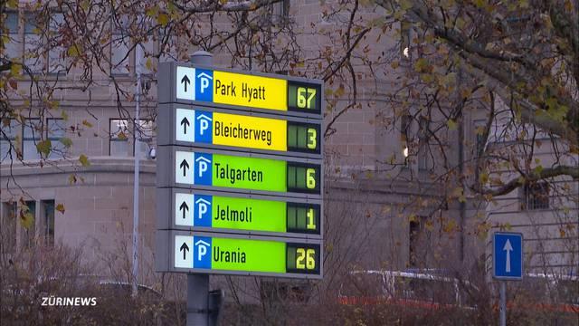 Zürich hat zu viele Parkplätze!