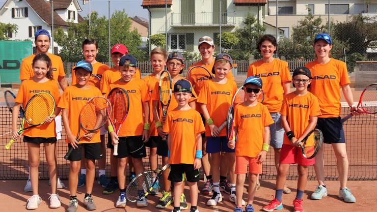 Teilnehmer der Tenniswoche 2018