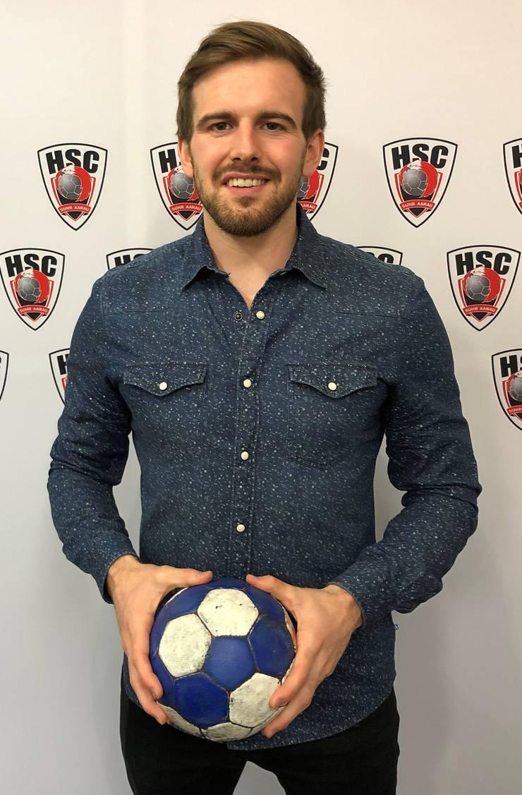 Sergio Muggli hat beim HSC Suhr Aarau einen Zweijahresvertrag unterschrieben.