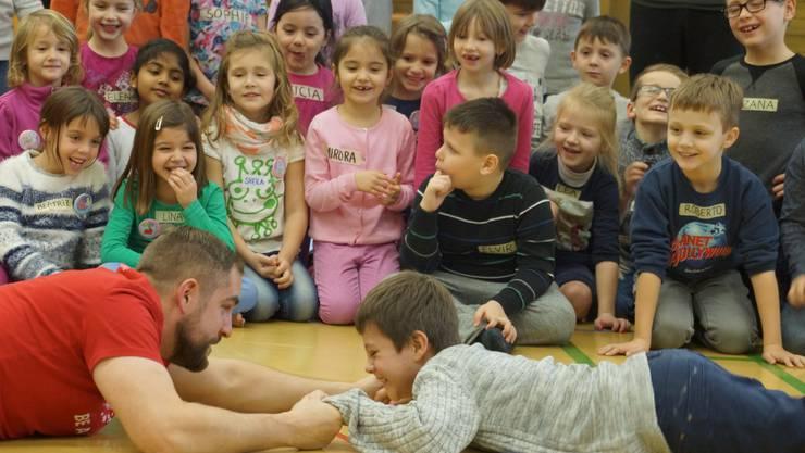 Schülerinnen und Schüler der Schule Bad Zurzach