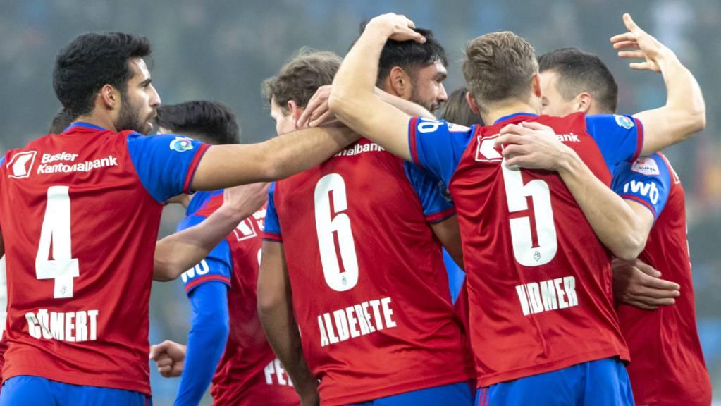 FC Basel macht Super League spannend und spielt sich gegen die Young Boys schon früh in einen Torrausch