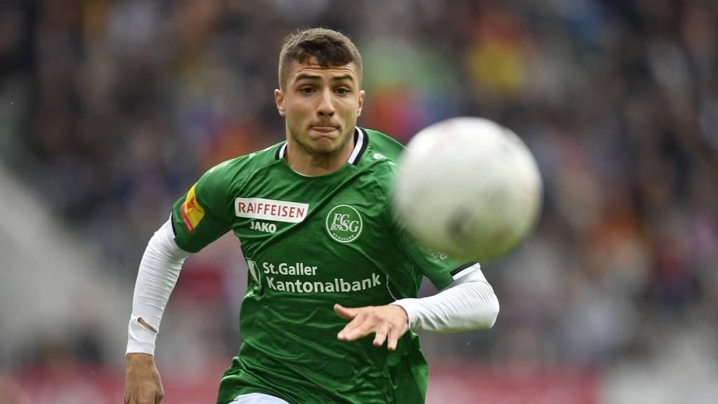 Hat Gladbach Interesse an 18-jährigem FCSG-Abwehrtalent?