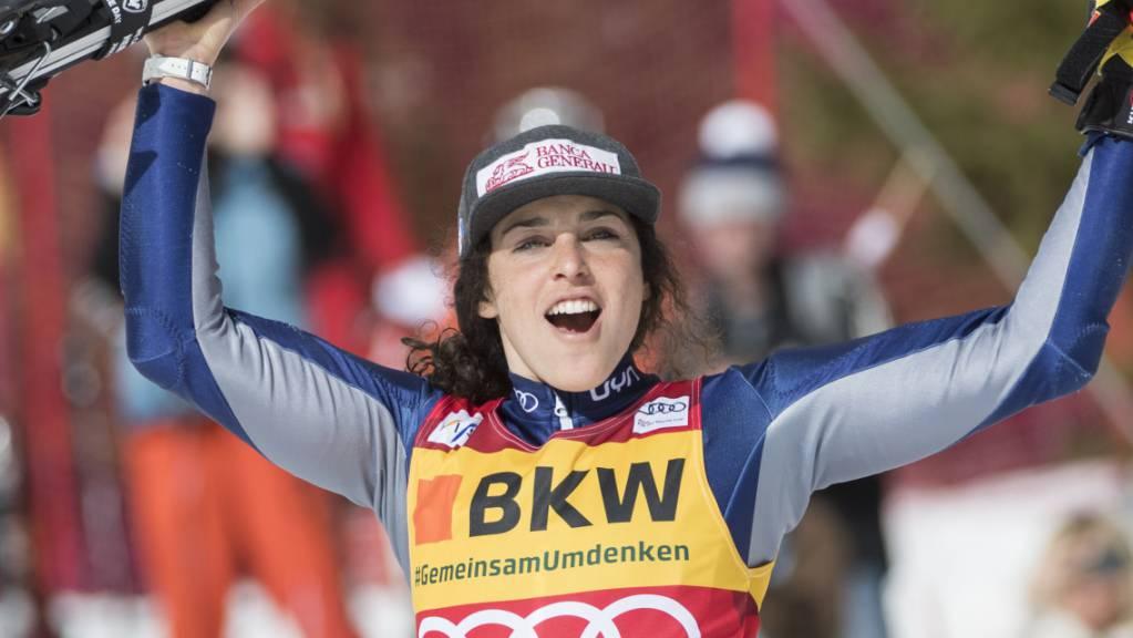 Federica Brignone gewinnt als erste Italienerin den Gesamtweltcup.