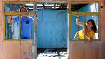 Eine Ennetbadenerin in Kirgistan