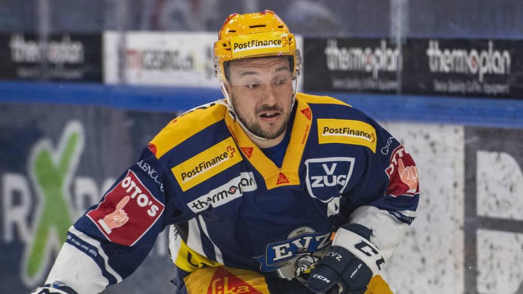 Captain Jan Kovar verlängert beim EVZ