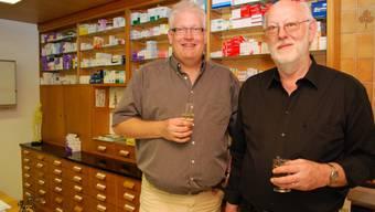 Hartmut Bauer (links) übernimmt von Markus Haltinner eine langjährige Arztpraxis. Foto: ES