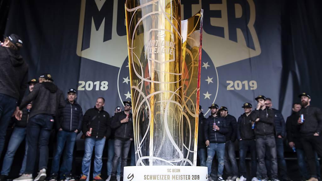 Das Objekt der Begierde: Gesucht wird in den kommenden zehn Tagen der Nachfolger des SC Bern, der 2019 der letzte Schweizer Meister war