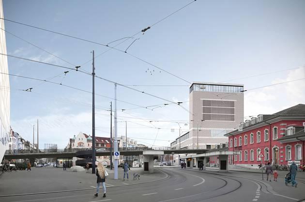 Dafür gibt es hier ein Ja: Der Neubau des Naturhistorischen Museums und des Staatsarchivs ist im St. Johann geplant.