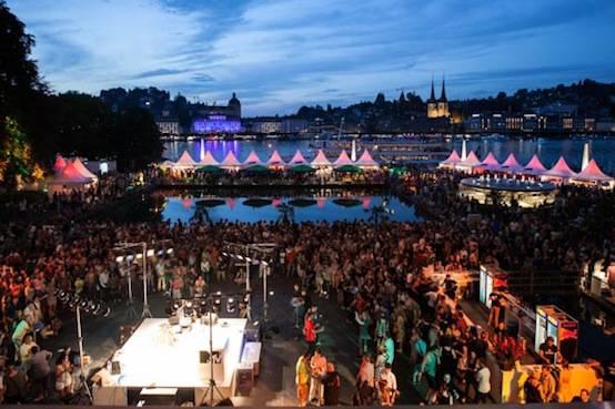 Neun Tage dauert das Blue Balls-Festival in der Stadt Luzern.