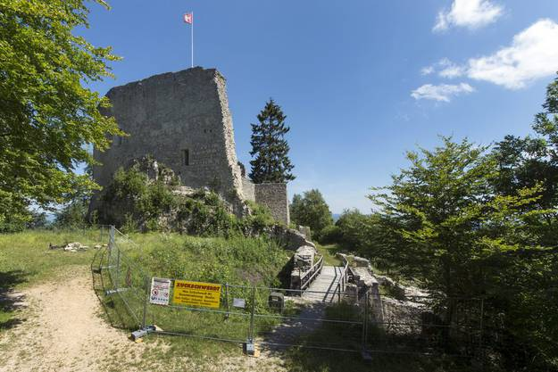 Die Ruine Farnsburg soll nun saniert werden.