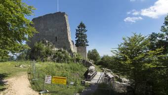 Die Ruine Farnsburg soll nun doch rasch teilsaniert werden.