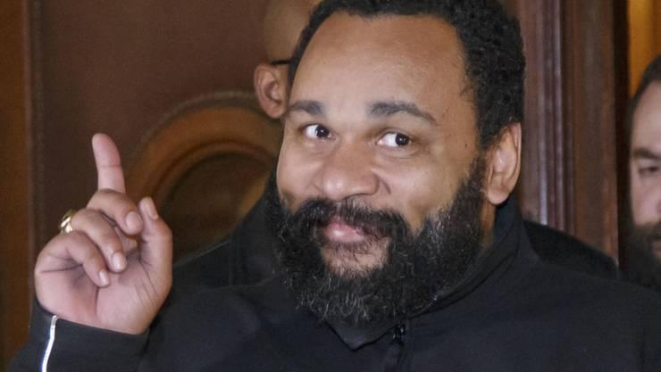 Der umstrittene französische Komiker wurde Dutzende Male wegen rassistischer oder antisemitischer Äusserungen verurteilt. (Archivbild)