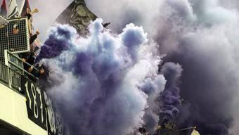 Die FCB-Fans sorgten mit der provozierten Unterbrechung letztendlich für die Wende.