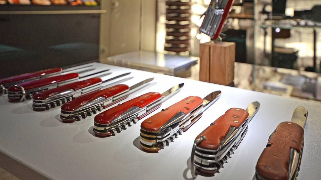 Victorinox macht Jagd auf Messer-Fälscher