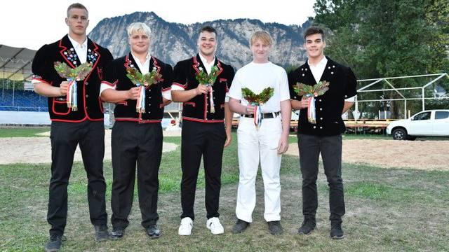 Von links: Odermatt/ Voggensperger/ Joho/ Maeder und Bucher